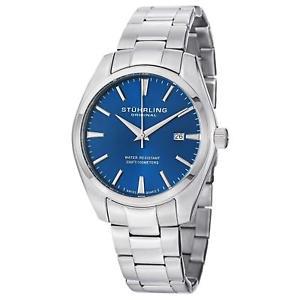 【送料無料】腕時計 ウォッチ ステンレススチールスイスクオーツsthurling 41433116am mujer 42mm acero inoxidable cuarzo suizo reloj