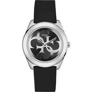 【送料無料】腕時計 ウォッチ ツイストウォッチシリコーンシルバーorologio guess g twist w0911l8 watch silicone nero donna uomo 40 mm silver