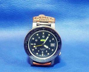 【送料無料】腕時計 ウォッチ キャメルトロフィーグリーンベルトウォッチcamel trophy watch green belt orologio