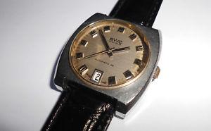 【送料無料】腕時計 ウォッチ ステンレススチールビンテージスイスアラームvieja hermosas seores bwc automatic acero inoxidable vintage 60er swiss reloj