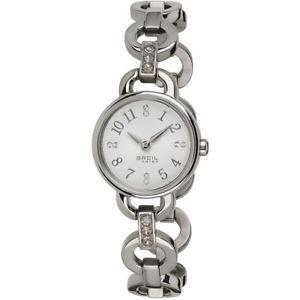【送料無料】腕時計 ウォッチ ヌオーヴォorologio breil tribe agata donna ew0278 watch nuovo silver ragazza zirconi