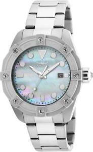 【送料無料】腕時計 ウォッチ フィールドアラーム20318 invicta 40mm mujer ngel cuarzo 3 mano blanco esfera reloj