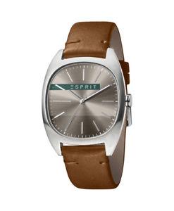 【送料無料】腕時計 ウォッチ インフィニティアラームブラウンアナログesprit infinity reloj hombre es1g038l0045 analogico cuero marrn