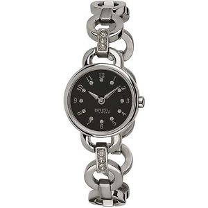 【送料無料】腕時計 ウォッチ orologio breil tribe agata donna ew0277 watch nuovo nero ragazza zirconi