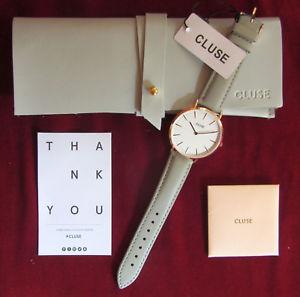 【送料無料】腕時計 ウォッチ ラグレーラcluse seora reloj pulsera cl18015 la bohme gris