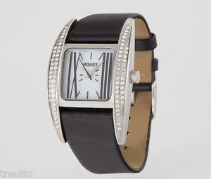 【送料無料】腕時計 ウォッチ アラームスワロフスキースチールウォッチreloj vendoux mujer acero swarovski ls14315 womens steel leather watch uhr