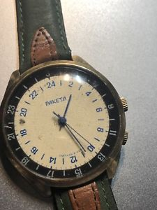 腕時計 ウォッチ ソカルボーネインナーベゼルraketa ussr 24h miniere carbone 40x42 mm rotating inner bezel