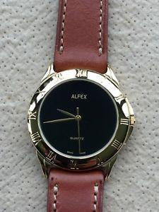 【送料無料】腕時計 ウォッチ ヴィンテージアラームnos nuevo alfex vintage watch reloj 33 mm