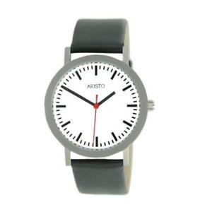 【送料無料】腕時計 ウォッチ レディアラームステンレススチールaristo seora reloj estacin de acero inoxidable 3d03