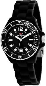 【送料無料】腕時計 ウォッチ スイスクオーツプラスチックシリコンクリスマスseapro mujer muelle cuarzo suizo plstico negro reloj de silicona sp3219