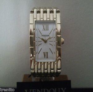 【送料無料】腕時計 ウォッチ アラームスチールスチールゴールドウォッチreloj vendoux mujer acero dorado md13140 womens steel gold watch uhr 3 atm