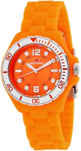 【送料無料】腕時計 ウォッチ スイスクオーツスプリングオレンジプラスチックシリコンseapro mujer muelle cuarzo suizo plstico naranja reloj de silicona sp3218