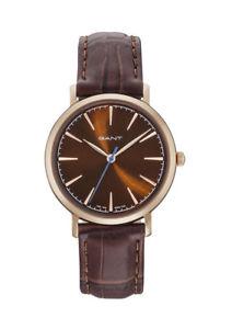 【送料無料】腕時計 ウォッチ ファンタスティックスタンフォードレディブラウンアナログgant fantastico stanford lady gt021007 analogico cuero marrn