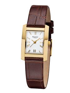 【送料無料】腕時計 ウォッチ リージェントレディースステンレススチールregent seoras reloj de pulsera acero inoxidable 76604510 cuero f1069