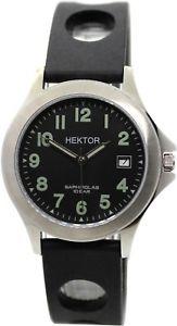 【送料無料】腕時計 ウォッチ ステンレススチールシリコンブレスレットクリスタルサファイアツールウォッチhektor arbeitsuhr acero inox pulsera silicn negro cristal zafiro tool watch
