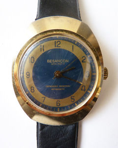 【送料無料】腕時計 ウォッチ バージョンウォッチリレーancienne montre besanon spihref 17 mcanique vers 1970 watch fonctionne