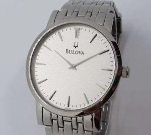 【送料無料】腕時計 ウォッチ シルバーアラームbulova c835133 para hombre ajustada de plata reloj ss