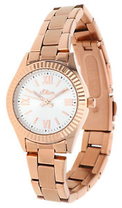 【送料無料】腕時計 ウォッチ オリバーs oliver seora reloj pulsera rosegold so15110mqr