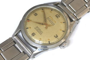 【送料無料】腕時計 ウォッチ スイスfelca 17 jewels rotomatic swiss made midsize watch
