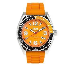 【送料無料】腕時計 ウォッチ カフダイバーウォッチジンジャーmanguito diver watch jengibre