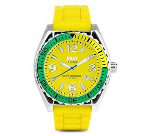 【送料無料】腕時計 ウォッチ カフダイバーウォッチブラジルmanguito diver watch brasileo