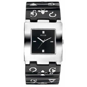 【送料無料】腕時計 ウォッチ ドーナグランデトレンディguess orologio donna city w11508l1 acciaio nero originale quadrato grande trendy