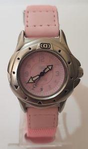 【送料無料】腕時計 ウォッチ ピンククロックanimal mujer esfera rosa reloj de 100m 040s