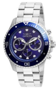 【送料無料】腕時計 ウォッチ プロダイバークロノメーターステンレススチールブレスレットエリア21788 invicta 45mm hombres pro diver cronmetro azul reloj pulsera acero esfera