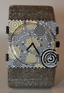 【送料無料】腕時計 ウォッチ アラームサークルゲームスタンプモンパルナスstamps reloj circle games 100101 stamps esfera belta structure silver