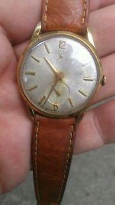腕時計 ウォッチ ロデイraro e stupendo orologio levrette oversize placcato oro dei primi anni 50