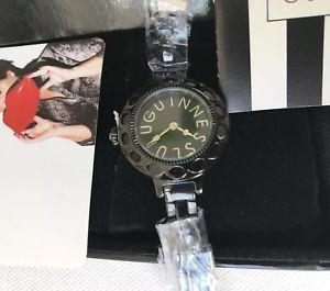 【送料無料】腕時計 ウォッチ ルルギネスブラックレディースreloj de pulsera lulu guiness damas negro