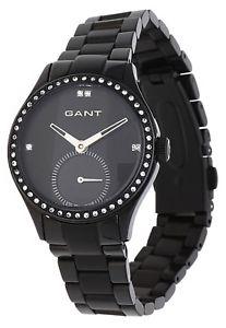 【送料無料】腕時計 ウォッチ レディブラックウォッチgant seora reloj pulsera shirley negro w10413