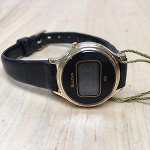 【送料無料】腕時計 ウォッチ ヴィンテージゴールデンカラーデジタルvintage 1979 bulova mujer color dorado ovalado lcd reloj digital horas ~ for