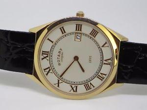 【送料無料】腕時計 ウォッチ ナイツロータリーピンクゴールドcaballeros rotary ultra delgado de oro rosa de fecha reloj gs0800301