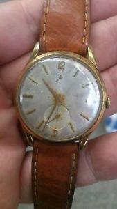 【送料無料】腕時計 ウォッチ ロデイraro e stupendo orologio levrette oversize placcato oro dei primi anni 50