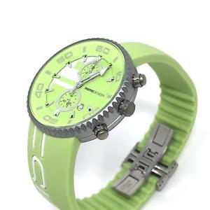 【送料無料】腕時計 ウォッチ アラームクロノグラフジェットライムグリーンアルミボックスreloj crongrafo momodesign jet verde lima 43 mm caja de aluminio