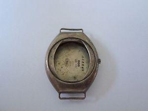 【送料無料】腕時計 ウォッチ シルバーオリジナルアールデコウォッチボックストノーカバーoriginal 1918 plata tonneau en forma de art dec caja de reloj, de una finca antigua