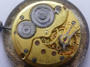 【送料無料】腕時計 ウォッチ マニュアルサービスシートzenith automatic manual cal 126 hoja with dimisionario not working need service k374