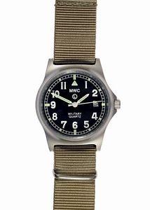 【送料無料】腕時計 ウォッチ ブレスレットmwc g10 lm 50m correa de reloj militar del desierto, fecha, resistencia al agua cuarzo nuevo
