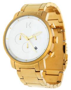 【送料無料】腕時計 ウォッチ アラームゴールドブレスレットクロノグラフmvmt seores reloj pulsera de oro chronograph mc01gc