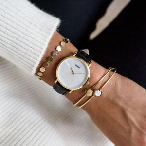 腕時計 ウォッチ ラカサゴールドパールorologio cluse cl30048 minuit la perle pelle nera cassa oro 33mm madreperla