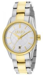 【送料無料】腕時計 ウォッチ ラグジュアリーリュジョドナテスゴールドビアンコorologio donna liu jo luxury tess tlj950 bracciale acciaio bicolor gold bianco