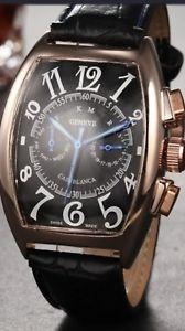 【送料無料】腕時計 ウォッチ ドレスクロックローズゴールドvestido de lujo reloj pulsera reloj automtico para hombre oro rosa para hombre formal