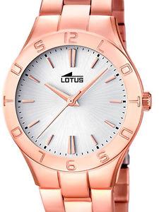 腕時計 ウォッチ ピンクゴールドステンレススチールコレクションlotus 158981 coleccion trendy de seora en acero chapado ip en rosa