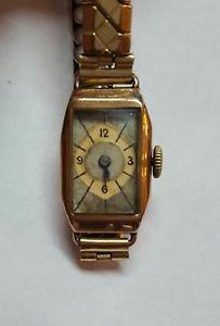 【送料無料】腕時計 ウォッチ アールデコmontre femme 1936 or 9k art deco