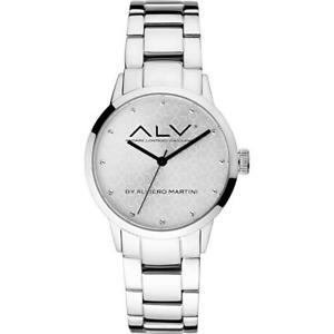 【送料無料】腕時計 ウォッチ マティーニシルバーorologio donna alv by alviero martini alv0001 bracciale acciaio silver