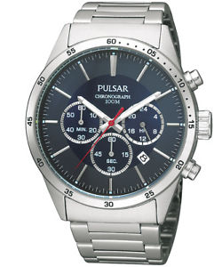 【送料無料】腕時計 ウォッチ アラームクロノグラフ×pulsar reloj de hombre crongrafo pt3003x1