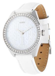 【送料無料】腕時計 ウォッチ ホワイトguess seora reloj de pulsera blanco w0560l1