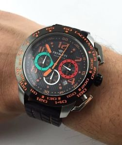 【送料無料】腕時計 ウォッチ クロノラリーコルシカウォッチfantastico orologio pryngeps giroveloce chrono 5 atm rally corse watch oversize