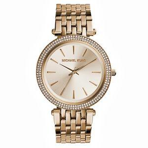 腕時計 ウォッチ ゴールドカップオリジナルステンレススチールoriginal michael kors reloj fantastico mk3191 darci acero inoxidable en taza oro nuevo